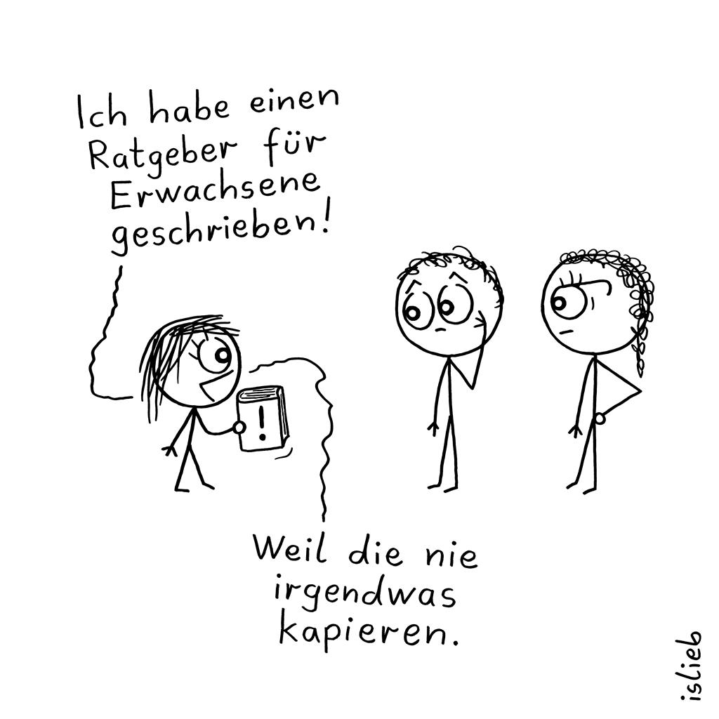 Ratgeber | Erziehungs-Cartoon | islieb