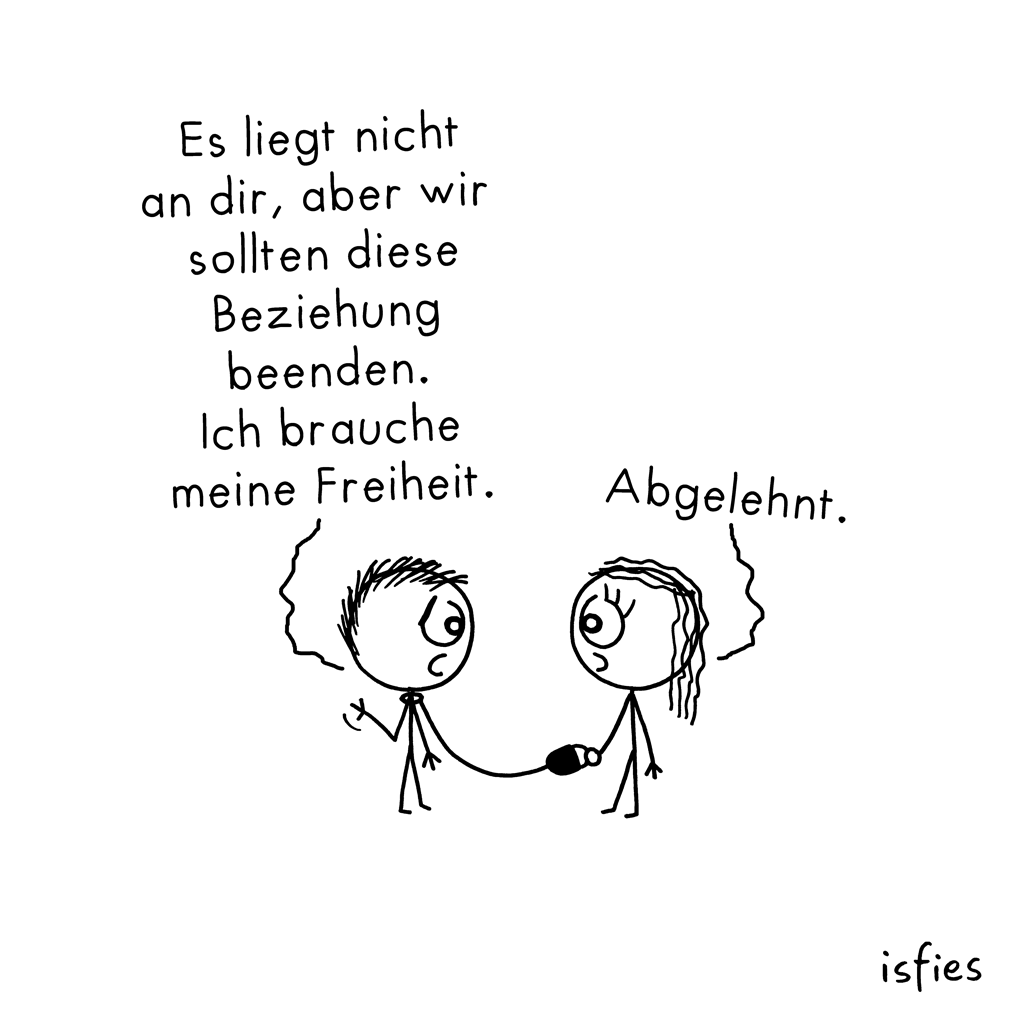 Ablehnung | isfies