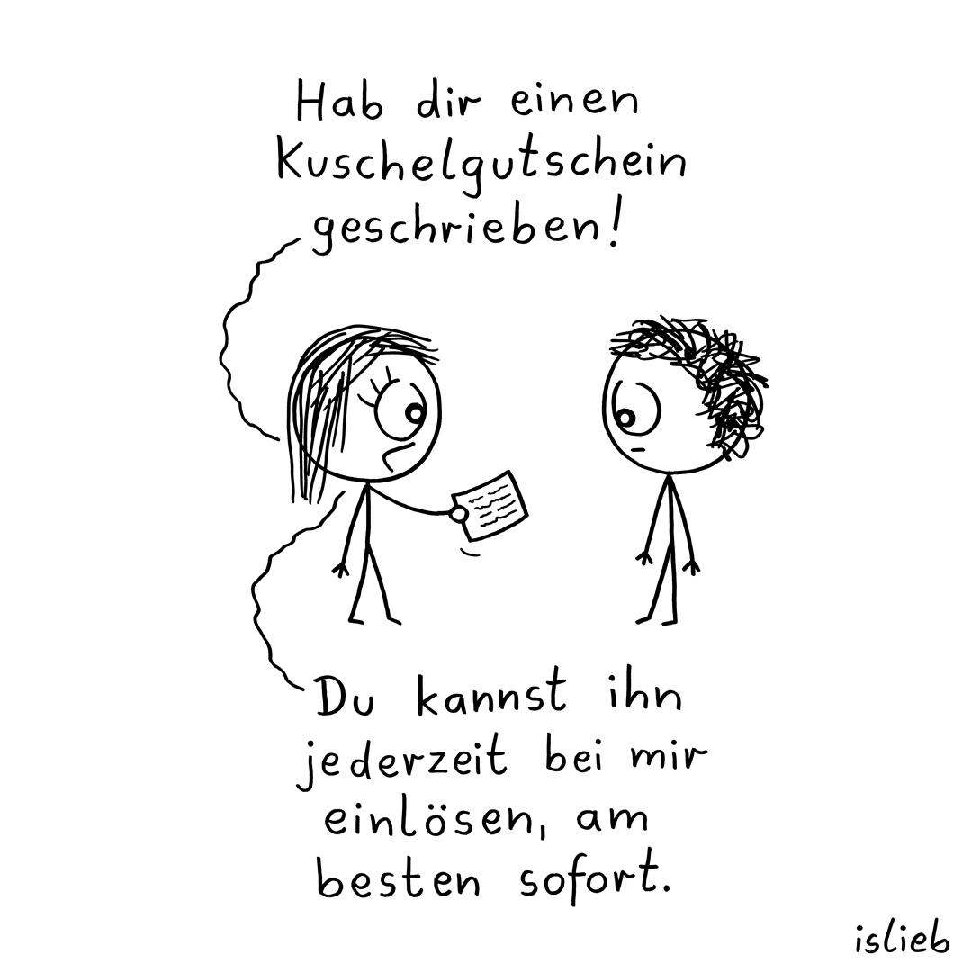 Gutschein islieb Comic